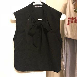 Zara Lovely black Top
